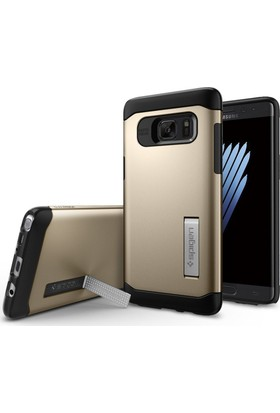 Spigen Samsung Galaxy Note 7 / FE (Fan Edition) Kılıf Slim Armor Champagne Gold