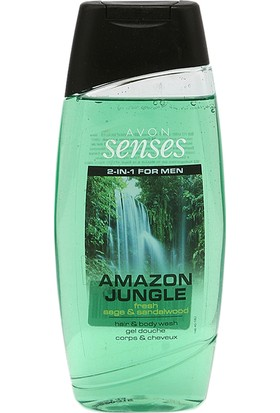 Avon Amazon Jungle 500 Ml. Saç Ve Vücut Şampuanı