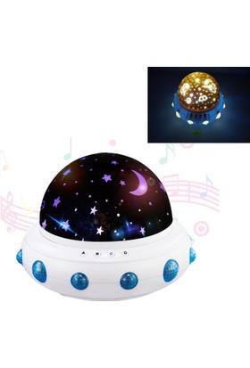 Buffer Tatlı Rüyalar Müzikli Dönen Projektör Gece Lambası
