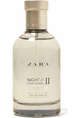 Zara Night 2 Pour Homme Sport Eau De Parfüm 100 ml Erkek