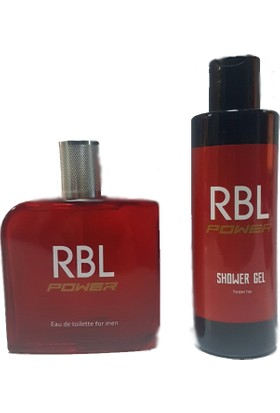 Rebul Power 100 ml Parfüm + 200 ml Duş Jeli Seti Rbl Power