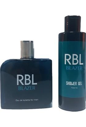 Rebul Blazer 100 ml Parfüm + 200 ml Duş Jeli Seti Rbl Blazer