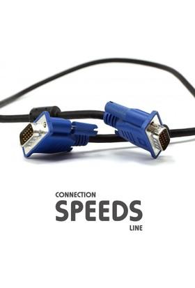 C.Speeds Line Ag-Vga01 1.5 Metre Siyah Vga To Vga Kablo