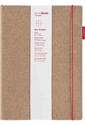 Transotype SenseBook Red Rubber A4 - Kareli