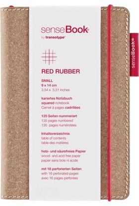 Transotype SenseBook Red Rubber A6 - Kareli
