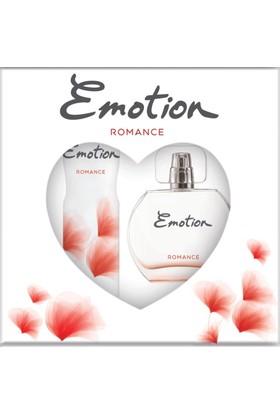 Emotion Edt + Deo Karton Parfüm - Deodorant Seti Romance