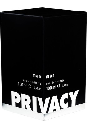 Privacy Edt 100 ml Men 100