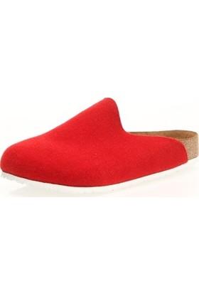 Comfortfüsse Favor Kırmızı - Beyaz Kadın Terlik