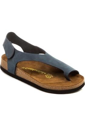 Comfortfüsse Felecia Lacivert Kadın Sandalet