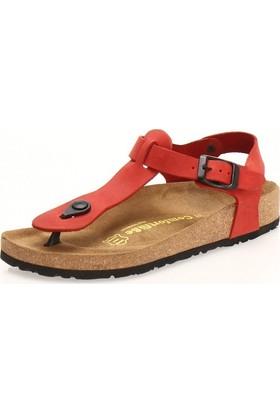 Comfortfüsse Gerda Kırmızı Kadın Sandalet