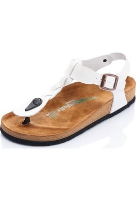 Comfortfüsse Grizel Beyaz Kadın Sandalet