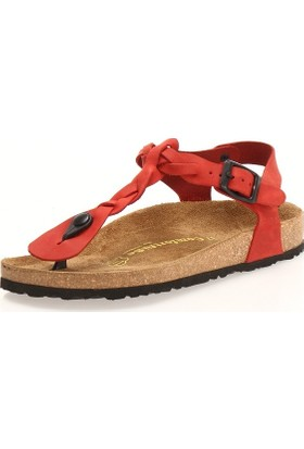 Comfortfüsse Grizel Kırmızı Kadın Sandalet