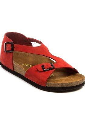 Comfortfüsse Lorah Kırmızı Kadın Sandalet