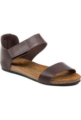 Comfortfüsse Occa Kahve Kadın Sandalet