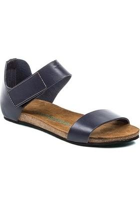 Comfortfüsse Occa Lacivert Kadın Sandalet