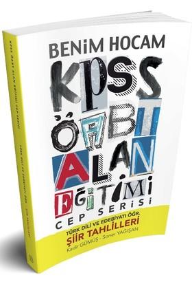 Benim Hocam Yayınları 2018 Öabt Cep Serisi Türk Dili Ve Edebiyatı Öğretmenliği - Kadir Gümüş;Soner Yağışan