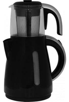 Karaca Enerji Tasarruflu Kettle Çay Makinesi 1501 Silverline
