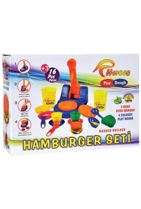 Play-Dough Hamburger Oyun Hamuru Seti