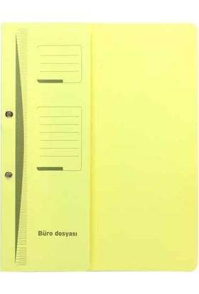 Ucc Büro Dosya Yarım Kapak Sarı