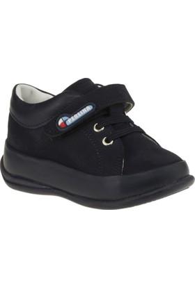 Perlina 2107 İlkadim Tek Cirtli Lacivert Çocuk Ayakkabı