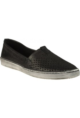 Estile 101-241 Bağsiz Günlük Siyah Kadın Ayakkabı