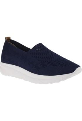 Estile 101-T2 Tekstil Günlük Lacivert Kadın Ayakkabı