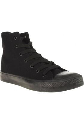 Ganzi 8101 Kanvas Siyah Unisex Spor Ayakkabı