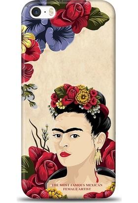 Eiroo iPhone SE/5/5S Kahlo Desen Kılıf
