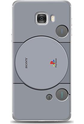 Eiroo Samsung Galaxy C7 Game Station Desen Kılıf
