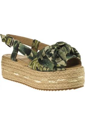 Greyder 54661 Afeta Yeşil Kadın Sandalet