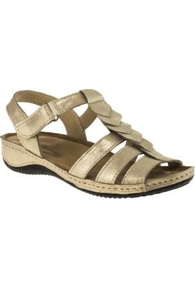 Greyder 54622 Comfort Bej Kadın Sandalet