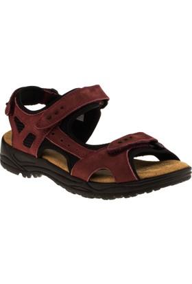 Greyder 56001 Comfort Bordo Kadın Sandalet