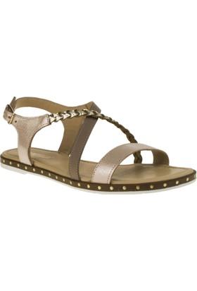 Greyder 54543 Düz Pudra Kadın Sandalet