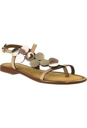 Greyder 54549 Düz Pudra Kadın Sandalet