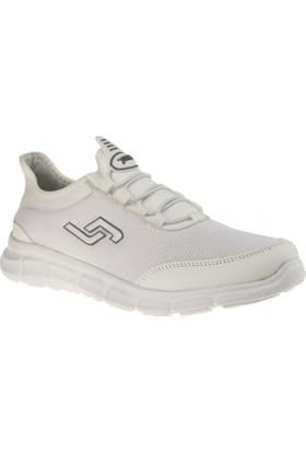 Jump 15529 Bağlı Yürüyüş Beyaz Erkek Spor Ayakkabı