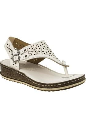 Consuelo 1390 P.A Beyaz Kadın Sandalet