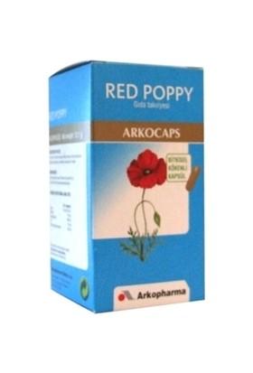 Aksuvital Bitkisel Ürünler Arkopharma Red Poppy (Gelincik) Yaprağı Tozu 45 Kapsül