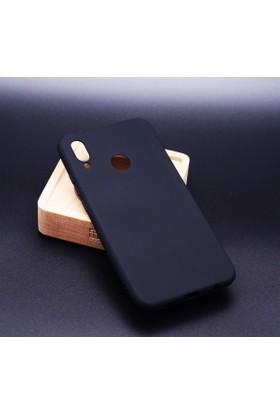 Case 4U Huawei P20 Lite Kılıf Mat Silikon Kılıf - Premier - Siyah