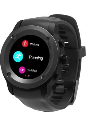 Case 4U Bluetooth Nabız Gps Spor Aktivite Saati DW-028 - Siyah