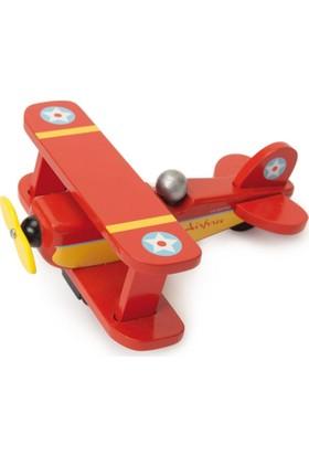 Le Toy Van Kırmızı Uçak