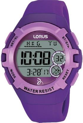 Lorus r2395lx9 Mor Dijital Çocuk Kol Saati