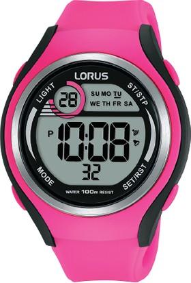 Lorus R2383lx9 Pembe Dijital Kadın Kol Saati