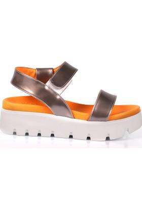 Deristudio Ft801 Kadın Dolgu Topuk Sandalet