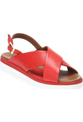 Deristudio Yb668 Kadın Dolgu Topuk Sandalet