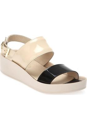Deristudio Yb6163 Kadın Dolgu Topuk Sandalet