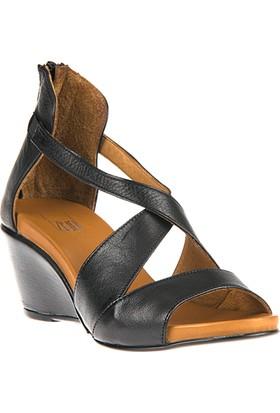 Ziya Kadın Hakiki Deri Ayakkabı 8176 3154 Siyah