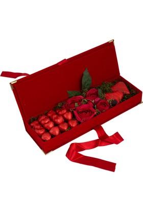 Elit Aşk Hazinesi Sevgiliye Özel Çikolata
