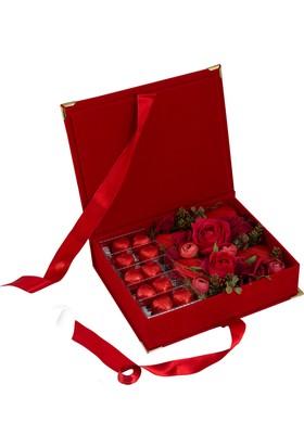 Elit Aşk Bahçesi Sevgiliye Özel Çikolata