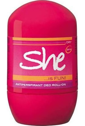 She Roll-On İs Fun