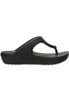Crocs 204181-060 Sloane Embellished Flip Kadın Günlük Terlik